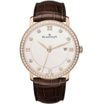 Blancpain Villeret Ultra-Slim new Automatic Watch with original box and original papers 6651-2987-55B