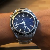 Omega 2201.50.00 Staal 2008 Seamaster Planet Ocean 42mm tweedehands