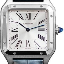 Cartier Santos Dumont Steel 31.4mm Silver United States of America, New York, Airmont