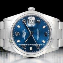 Rolex Oyster Perpetual Date Acciaio 34mm Blu Arabi Italia, Bologna