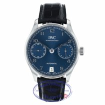 IWC Portuguese Automatic Steel 42.3mm Blue Arabic numerals United States of America, California, Beverly Hills