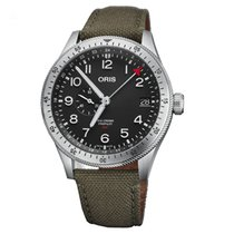 Oris Big Crown ProPilot GMT Acier 44mm Noir