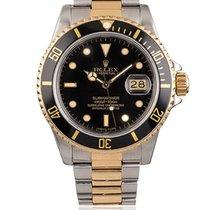 Rolex Submariner Date Gold/Steel 40mm Black No numerals South Africa, Johannesburg