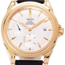Omega De Ville Co-Axial Жёлтое золото 38.7mm