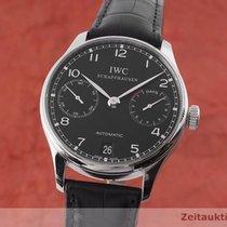 IWC Portuguese Automatic Otel 42.5mm Negru