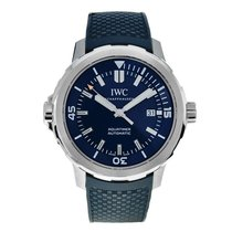 IWC Aquatimer Automatic Steel 42mm Blue No numerals United States of America, Massachusetts, Andover