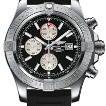 Breitling Super Avenger II Steel 48mm Black