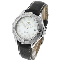 Breitling Colt Automatic Acero 38mm Blanco