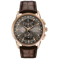 Citizen new Chronograph Luminescent Numerals Luminescent Hands Power Reserve Display Luminous indexes 43mm Steel
