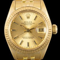 Rolex 6917 Yellow gold 1978 Lady-Datejust 26mm pre-owned