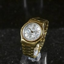 Ebel Le Modulor pre-owned Mother of pearl Yellow gold