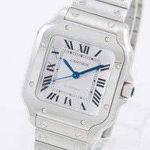 Cartier Santos (submodel) Stahl 35mm Silber Römisch Deutschland, Weißenhorn