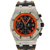 Audemars Piguet Royal Oak Offshore Chronograph Volcano Steel 42mm Black Arabic numerals