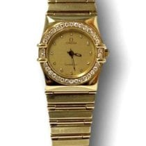 Omega Constellation 18kt Gold Ladies Dress Watch