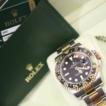 Rolex GMT-Master II Steel Gold