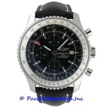 Breitling Navitimer World new Automatic Chronograph Watch with original box and original papers A2432212/B726