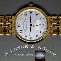 A. Lange & Söhne 1815 18k Yellow Gold Mens Bracelet Watch