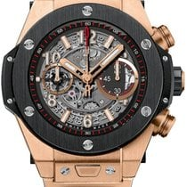 Hublot Big Bang Unico King Gold Ceramic Bracelet 45 mm