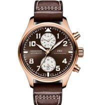 IWC Pilot Chronograph Rose gold 43mm Brown Arabic numerals UAE, DUBAI (By Appointment 10am-10pm)