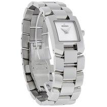 Movado Eliro Ladies Stainless Steel MOP Swiss Quartz Watch...