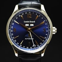 Louis Erard 42mm Automatic pre-owned 1931 Blue