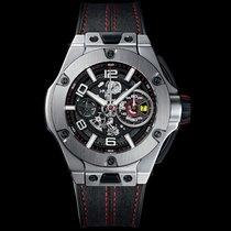 Hublot Big Bang Ferrari Titan 45mm Svart Arabiska