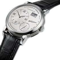 A. Lange & Söhne White gold 38.5mm Manual winding 191.039 new
