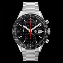 TAG Heuer Carrera Calibre 16 Automatic Chronograph Black Ste