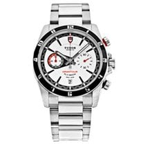Tudor Grantour Chrono Fly-Back Steel 42mm White United States of America, Connecticut, Greenwich