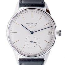 NOMOS Orion Neomatik Steel 41mm White No numerals