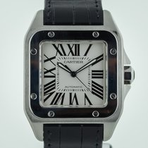 Cartier Santos 100, Stainless Steel, Ref 2656 New  Band, Box,...