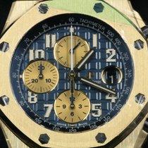 Audemars Piguet Royal Oak Offshore Chronograph Or jaune 42mm Bleu Arabes
