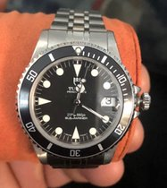 Tudor 75190 Staal 1999 Submariner 36mm tweedehands