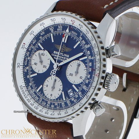 Breitling A C Sale From 369 A23322 leder Navitimer Trusted Stahl Ref For Seller Chrono24 5 On