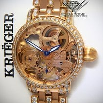 Krieger 43mm Manual winding pre-owned Transparent