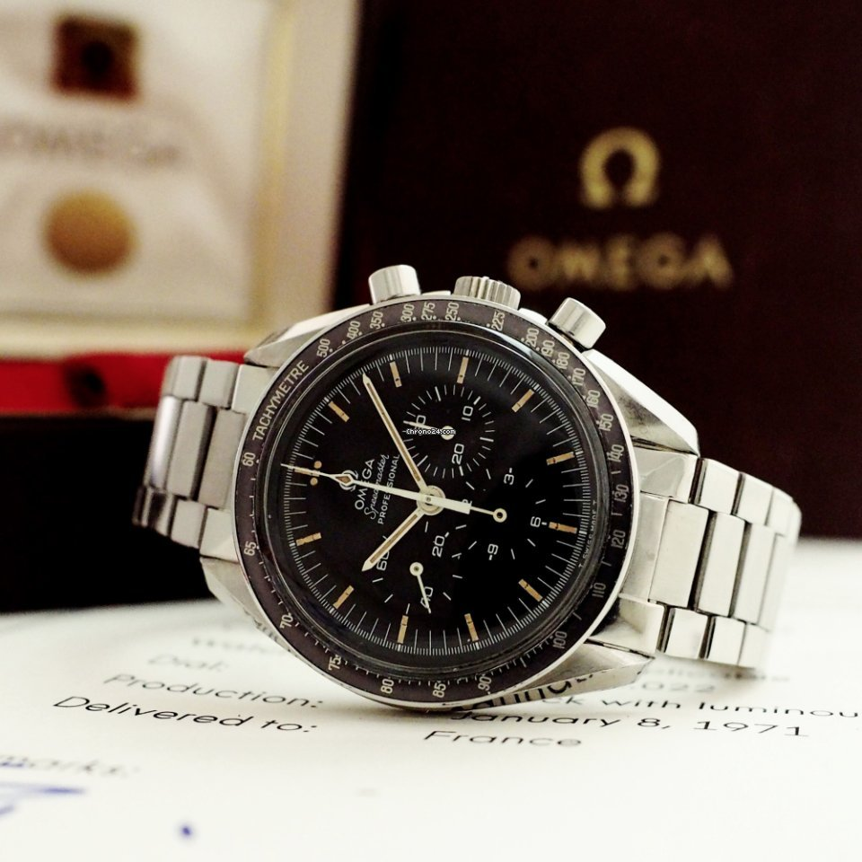 Omega Speedmaster Professional Moonwatch 145.022 1971 pre-owned