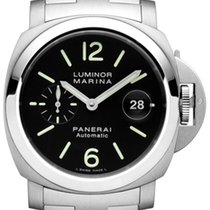 Panerai Luminor Marina Automatic Stål 44mm Arabiska