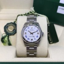Rolex Oyster Perpetual 31 Acero 31mm Blanco Romanos