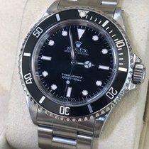 Rolex Submariner (No Date) Steel 40mm Black No numerals