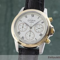 Glashütte Original Senator Chronograph Gold/Steel 39mm White