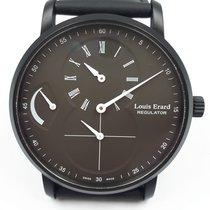 Louis Erard Steel 40mm Manual winding 54230NN32 new