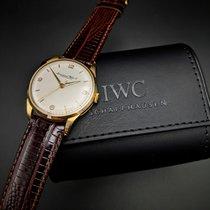 IWC Gelbgold 35mm Handaufzug gebraucht