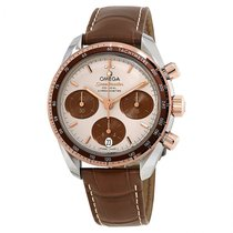 Omega Steel Automatic Brown 38mm new Speedmaster Ladies Chronograph