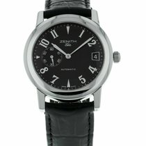 Zenith Port Royal Steel 37mm Black Arabic numerals United States of America, Florida, Sarasota