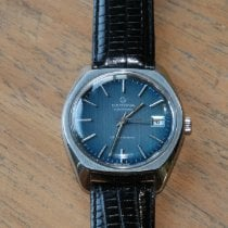 Certina pre-owned Automatic 41mm Blue Plexiglass Not water resistant