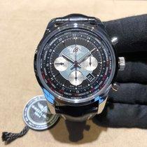 Breitling Transocean Chronograph Unitime nouveau 2014 Remontage automatique Chronographe Montre avec coffret d'origine et papiers d'origine AB0510U4/BB62/760P/A20BA.1