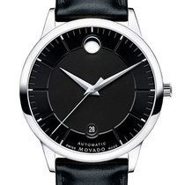 Movado Steel 39.5mm Automatic 0606873 new