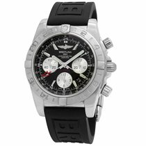 Breitling Chronomat 44 GMT Acero 44mm Negro