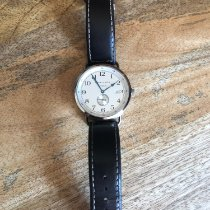 Hamilton Khaki Navy Pioneer pre-owned 40mm Silver Date Leather