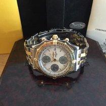 Breitling Chronomat Acero y oro 39mm Madreperla Sin cifras